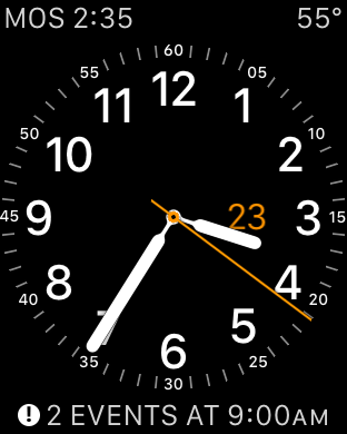 Apple Watch - Utility watch face