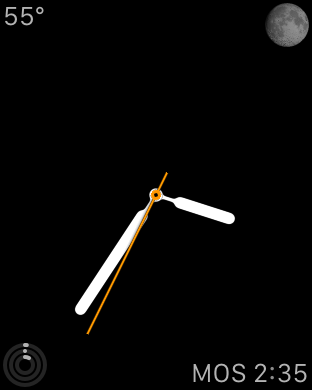 Apple Watch - Simple watch face