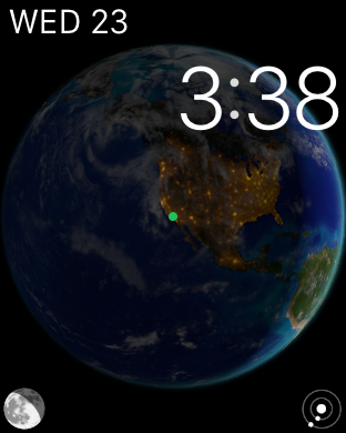 Apple Watch - Astronomy watch face